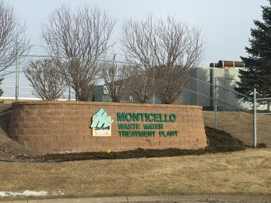 Tanks for the Monticello wastewater treatment plant now sit on the site of the mansion that was once a summer home for Twin Cities streetcar magnate Thomas Lowry and, later, Dino's Other World. The building was destroyed by fire in 1981.