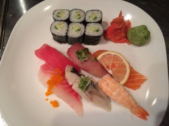 Matsu-Ya Sushi Bar & Grill has an extensive sushi menu, with more than 100 specialty rolls.