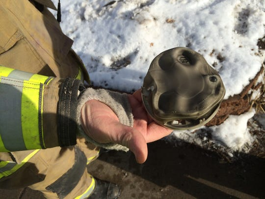 A smoke detector that was taken from a home at 2809 Church St. Tuesday was still beeping when it was found, said fire department officials.