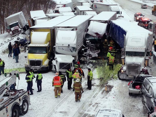 Massive pileup on I-94 kills 3, more than 20 hurt