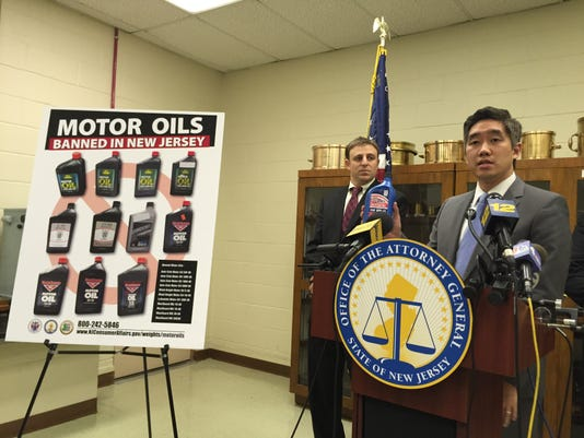motor oil ban