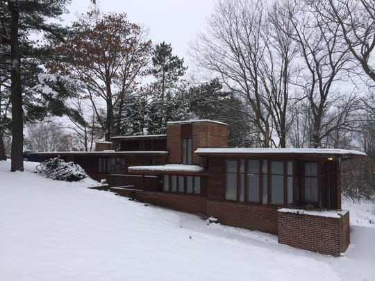 Frank Lloyd Wright designed this home on Highland Park Boulevard without ever visiting the site. David Wood, a Frank Lloyd Wright fan from Austin, Texas, bought the home in November.