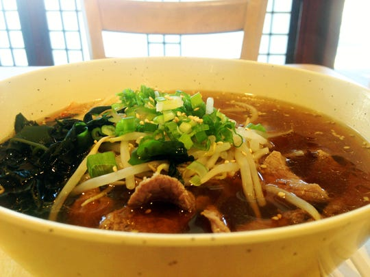 Shoyu ramen at Tanto in Scarsdale is light and warming.