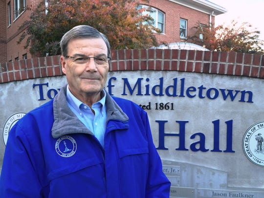 Middletown Mayor Kenneth L. Branner Jr.