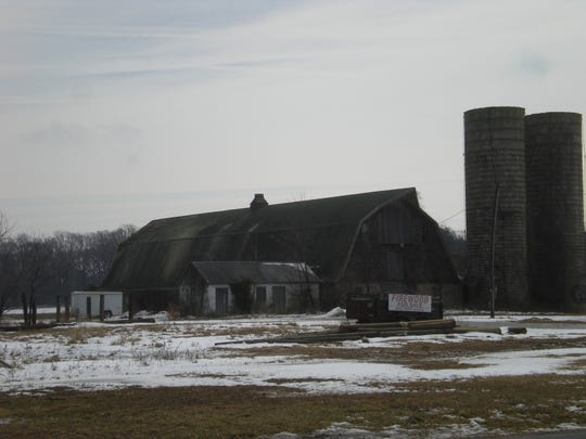 Townsend barn on Kings Highway in Lewes awaits restoration — or demolition.
