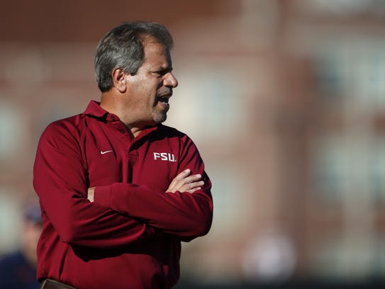 FSU soccer coach Mark Krikorian, who joined the program