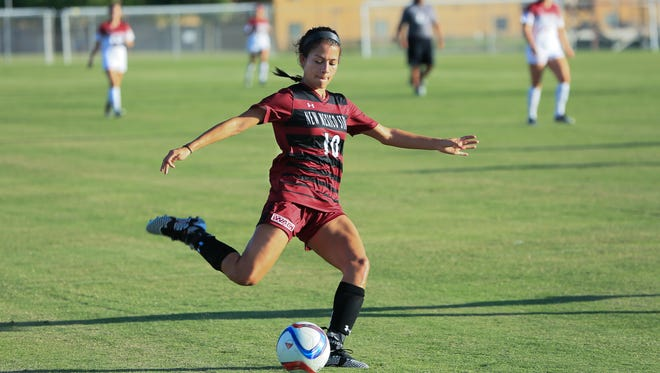 New Mexico State senior Aileen Galicia was named a Preseason All-Western Athletic Conference selection on Wednesday.