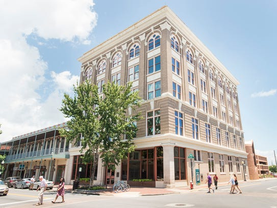 The Theisen Building at 40 Palafox Place in downtown