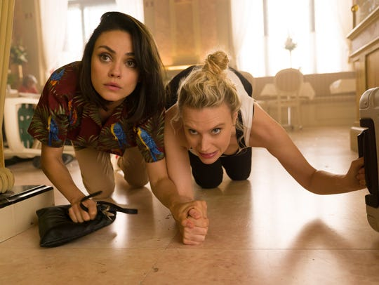 Mila Kunis and Kate McKinnon get caught in some espionage
