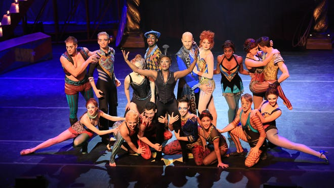 In 'Pippin,' classic Broadway-style dance merges with circus tricks.