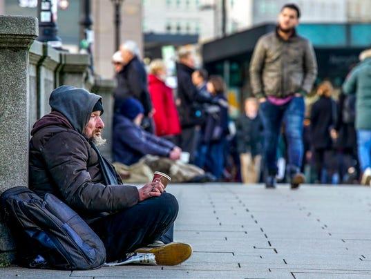 Germany homeless: Destitute citizens in Frankfurt will ...