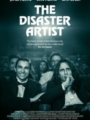 """The Disaster Artist"" poster."