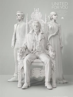 The Hunger Games: Mockingjay - Part 1 official poster.