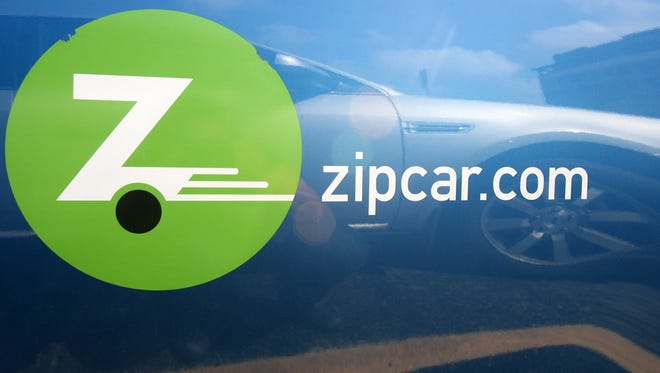 Car-sharing services like Zipcar and General Motors new Maven will grow steadily over the next decade, but will not reduce new vehicle sales in the U.S. as much as they will in Europe and Asia, a Boston Consulting Group study found.