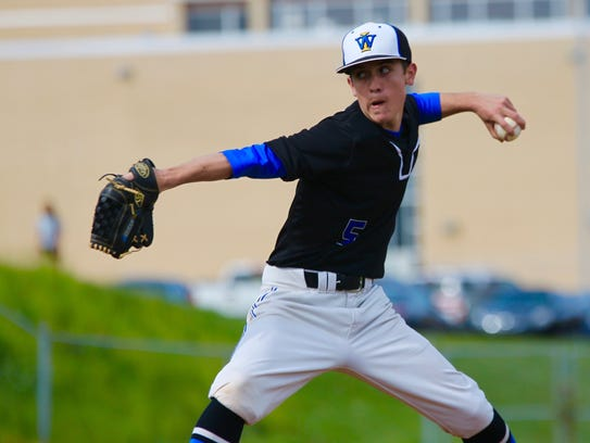 Waynesboro's Kyle Hoffman allowed just five hits in