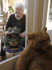 Barbara Ann Manning, 73, of Carmel, volunteers at Kinship