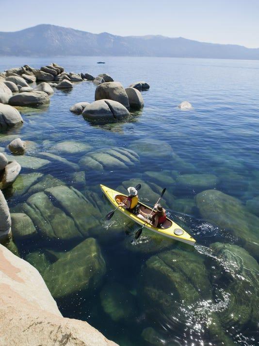 Lake Tahoe Kayakers