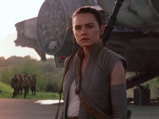 """Star Wars: The Force Awakens (2015).Directed by: J.J. Abrams; starring: Daisy Ridley, John Boyega, Oscar Isaac; domestic box office: $936.63 million."
