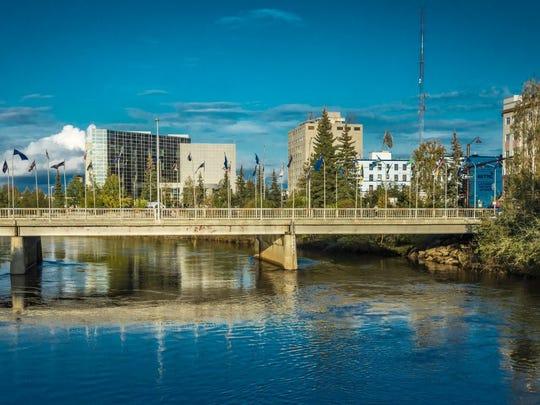 21. Fairbanks, Alaska 