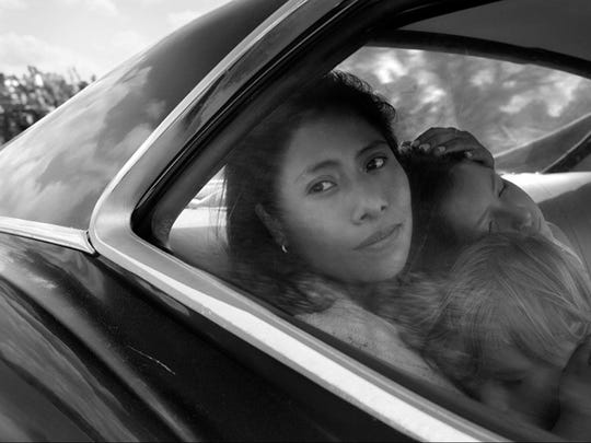 "12. Roma (Mexico)     • Nomination:  Best Motion Picture - Foreign Language     • Directed by:  Alfonso Cuarón     • Starring:  Yalitza Aparicio, Marina de Tavira, Diego Cortina Autrey     • IMDb rating:  8.7/10     ""Roma,"" written and directed by Alfonso Cuarón (""Gravity""), has been nominated for three Golden Globes, including Best Director and Best Screenplay. The film, told in black and white, follows the lives of a middle-class family living in Mexico City in the 1970s and has a 97% critics score and a 92% audience score on Rotten Tomatoes."