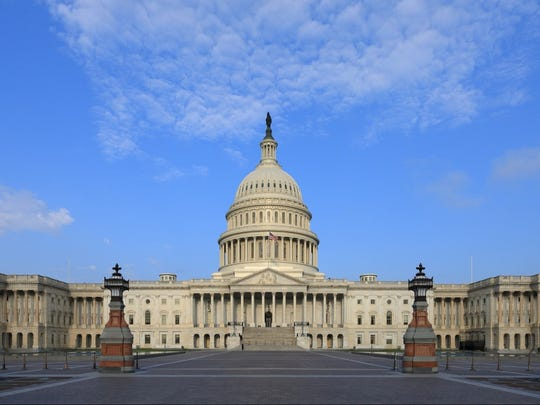 Congress meets in the United States Capitol.