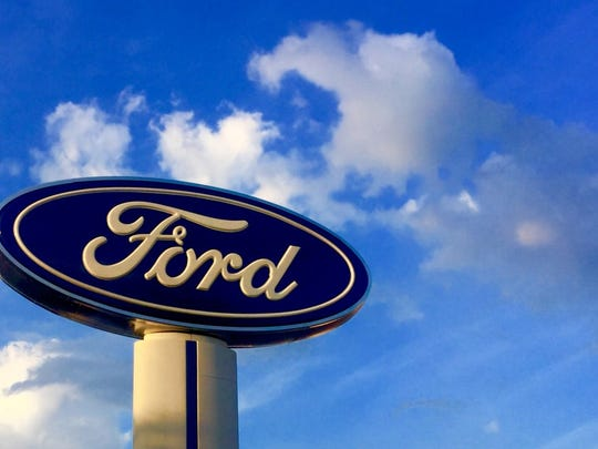 A Ford Motor Co. sign.