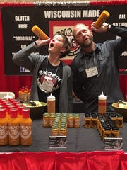 Delafield-based Smokin T's was started by Jeannie and Thomas Hochheim in February 2015. The husband and wife run the hand-smoked tomato sauce business on their own.