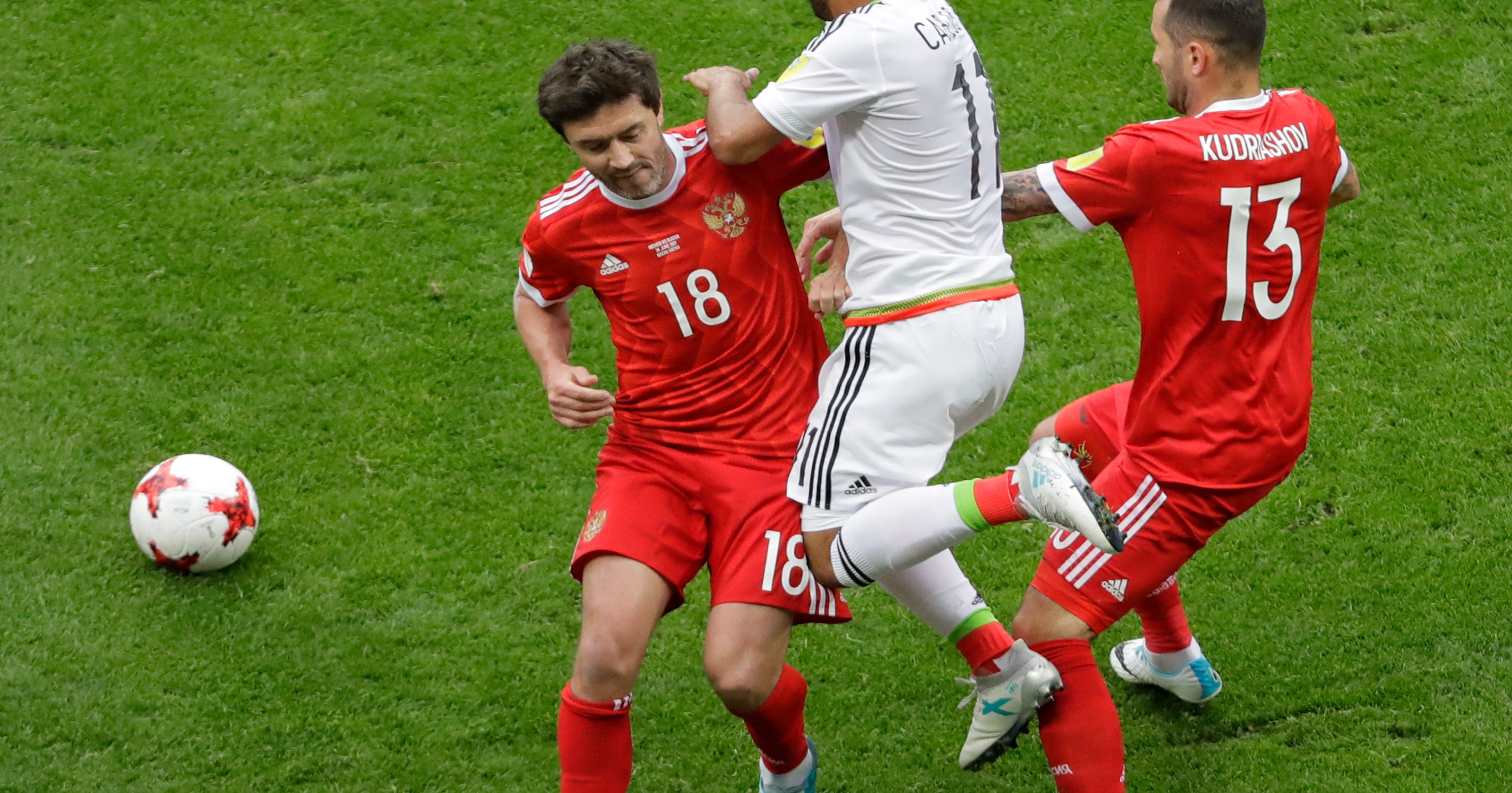 abf580548eb Host Russia exits Confederations Cup after loss to Mexico