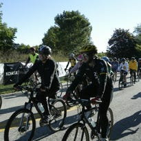 The Maywood Earth Ride is the largest annual fundraiser for the Ellwood H. May Environmental Park.