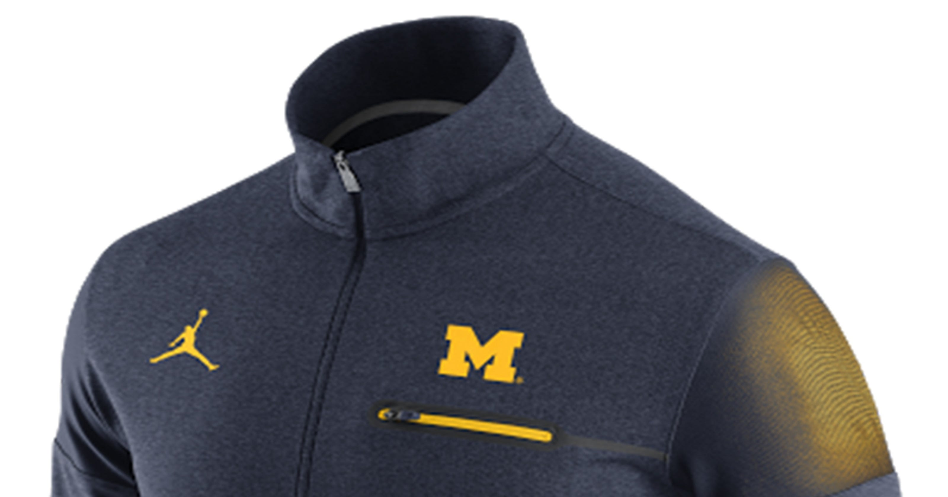 04ee46e9a2b0 Amarillo and Blue  Nike unveils new Michigan apparel