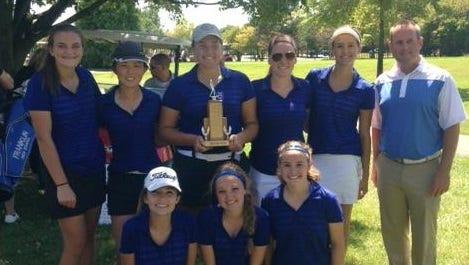 Livonia Stevenson's girls golf team captured its fourth straight Livonia City Golf championship Friday.