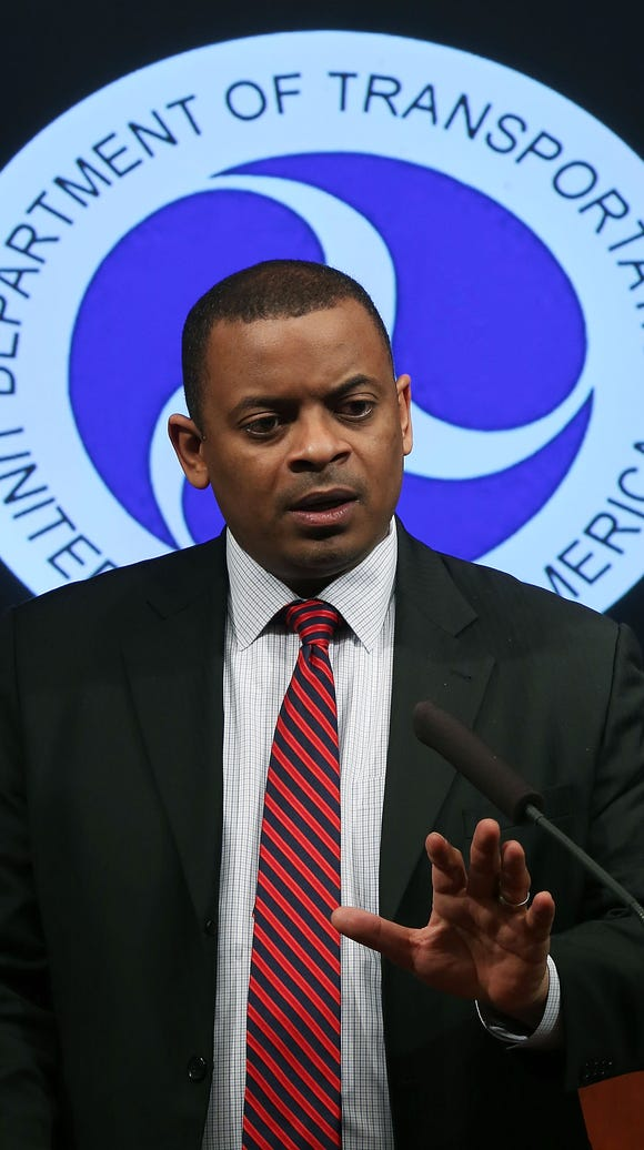 Transportation Secretary Anthony Foxx.