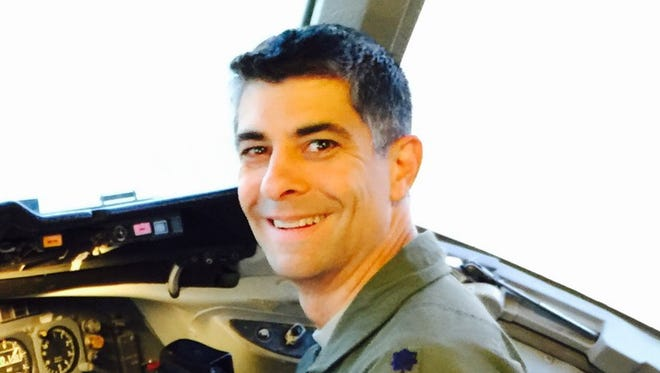 Lt. Col. Chris Reeder is a Sacramento-based Air Force reservist and pilot.