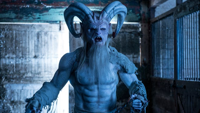 """Rob Archer as Krampus in """"A Christmas Horror Story."""""""