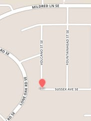 A crash killed a woman in her home on Sussex Ave in