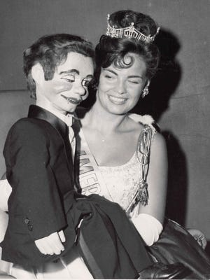Vonda Kay Van Dyke was named Miss America 1965. She competed in the talent show as a ventriloquist.