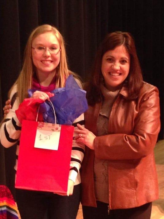 SJHS Spanish Spelling Bee 1st place winner.jpg