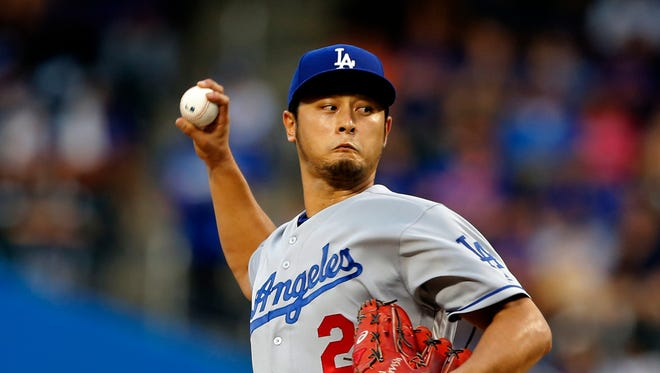 Yu Darvish shined in his Dodgers debut.
