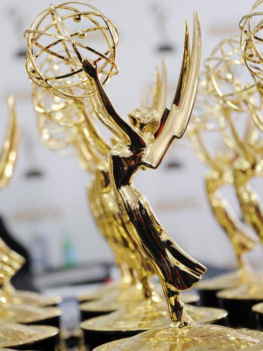 US-ENTERTAINMENT-EMMY AWARDS-RED CARPET