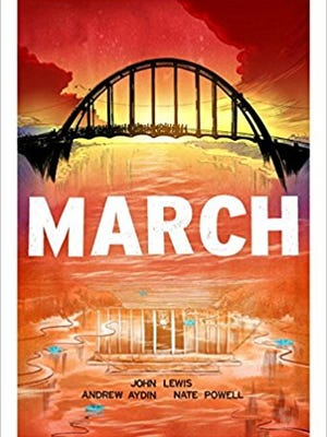 'March' trilogy by U.S. Rep. John Lewis.