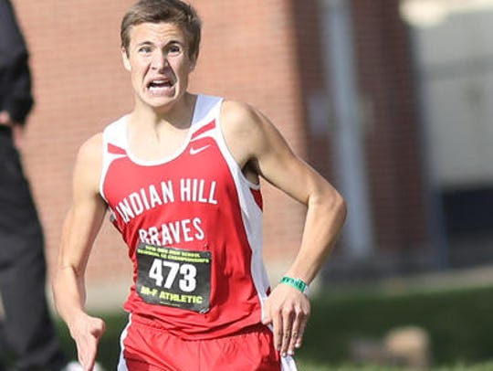 Indian Hill's Joe Murdock finished in fourth place