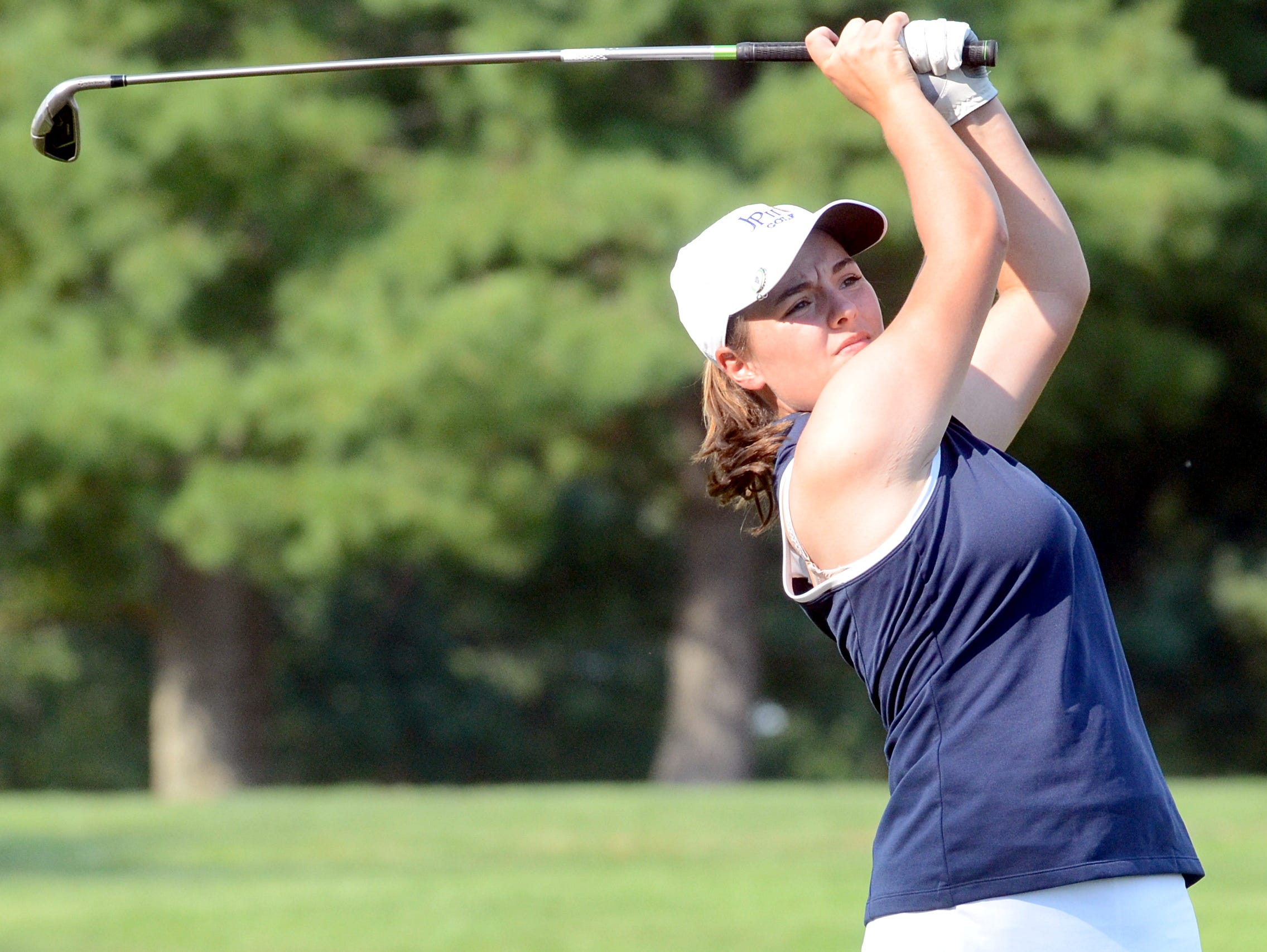 Pope John Paul II High freshman Ali McCarthy tied for 12th place at the Division II-Class AA State Tournament.