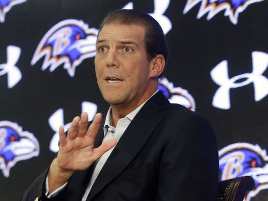 Baltimore Ravens head coach Steve Bisciotti. AP FILE PHOTO