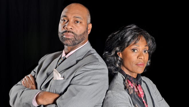 """Kwane Vedrene and Lillie Richardson star in the Black Theatre Troupe production """"Radio Golf."""""""