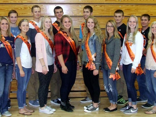 falls homecoming court
