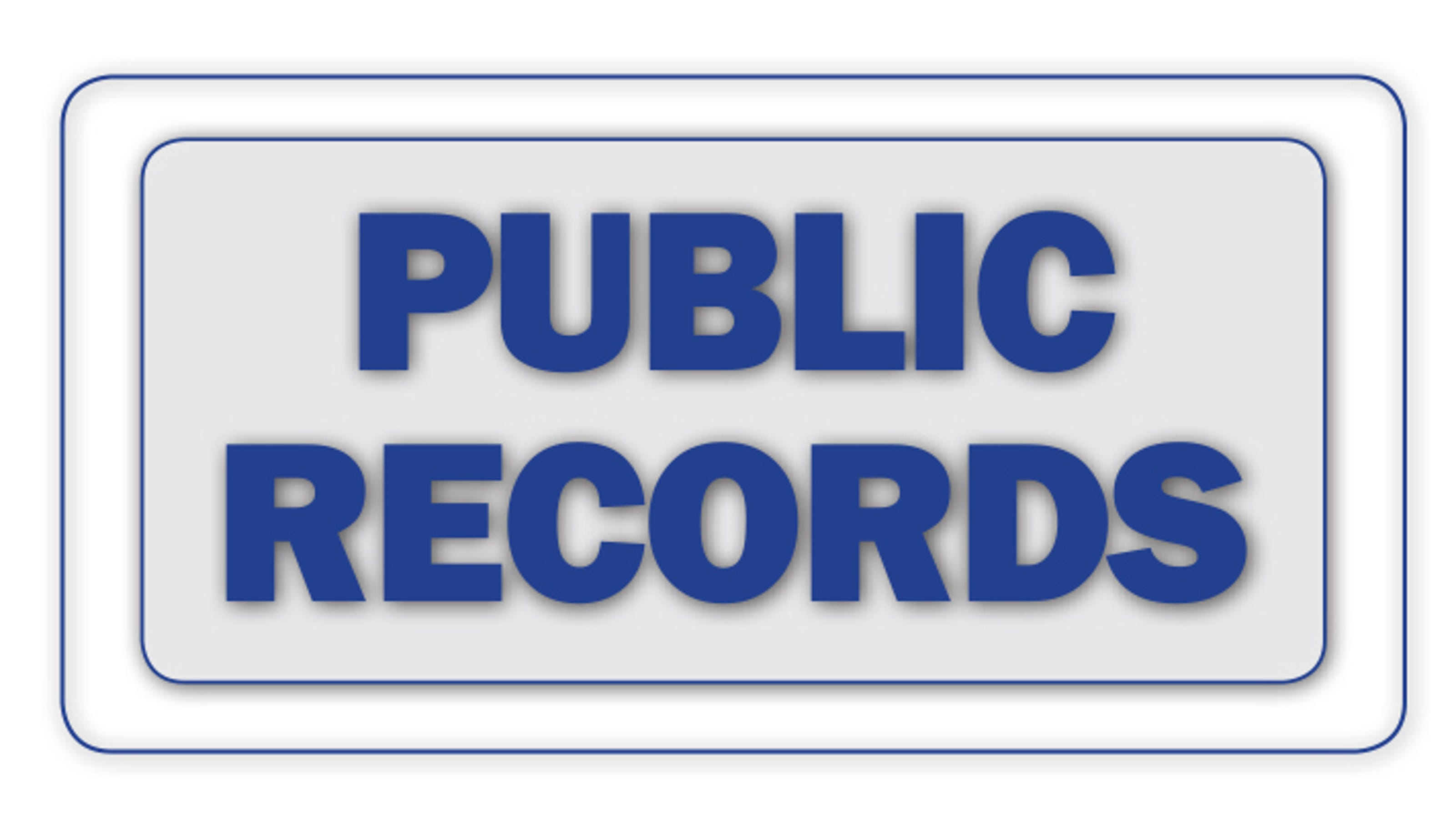 Public records May
