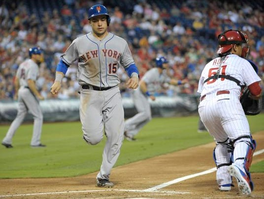 Mets at Phillies Aug. 8 2014