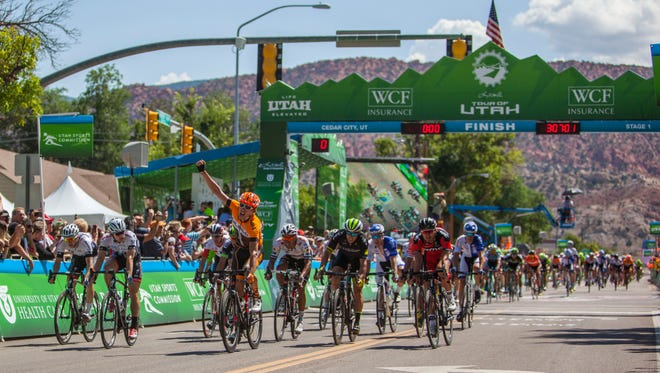 Stage 1 of the Tour of Utah is coming to Cedar City for the fourth year.