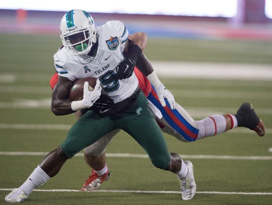 NCAA Football: Tulane at Southern Methodist