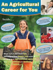 """""""Ag Agricultural Career for You"""" is targeted to middle"""